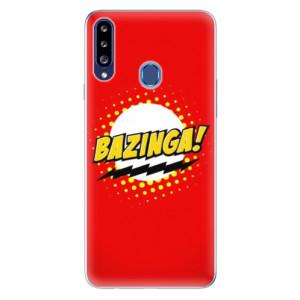 Odolné silikonové pouzdro iSaprio - Bazinga 01 na mobil Samsung Galaxy A20s