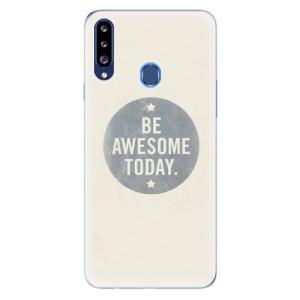 Odolné silikonové pouzdro iSaprio - Awesome 02 na mobil Samsung Galaxy A20s