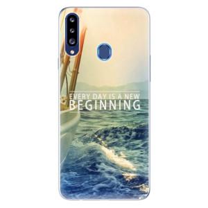 Odolné silikonové pouzdro iSaprio - Beginning na mobil Samsung Galaxy A20s
