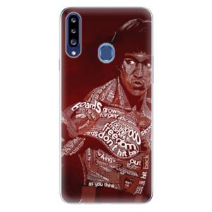 Odolné silikonové pouzdro iSaprio - Bruce Lee na mobil Samsung Galaxy A20s