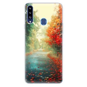 Odolné silikonové pouzdro iSaprio - Autumn 03 na mobil Samsung Galaxy A20s