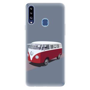 Odolné silikonové pouzdro iSaprio - VW Bus na mobil Samsung Galaxy A20s