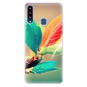 Odolné silikonové pouzdro iSaprio - Autumn 02 na mobil Samsung Galaxy A20s