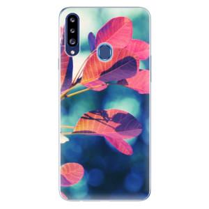 Odolné silikonové pouzdro iSaprio - Autumn 01 na mobil Samsung Galaxy A20s