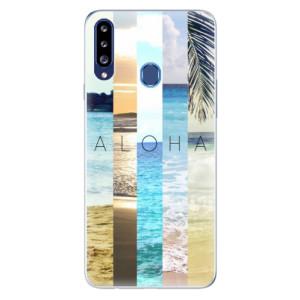 Odolné silikonové pouzdro iSaprio - Aloha 02 na mobil Samsung Galaxy A20s