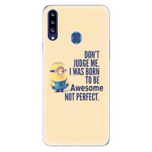Odolné silikonové pouzdro iSaprio - Be Awesome na mobil Samsung Galaxy A20s