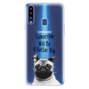 Odolné silikonové pouzdro iSaprio - Better Day 01 na mobil Samsung Galaxy A20s
