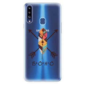 Odolné silikonové pouzdro iSaprio - BOHO na mobil Samsung Galaxy A20s