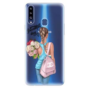 Odolné silikonové pouzdro iSaprio - Beautiful Day na mobil Samsung Galaxy A20s
