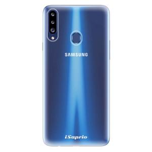 Odolné silikonové pouzdro iSaprio - 4Pure - čiré bez potisku na mobil Samsung Galaxy A20s
