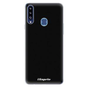 Odolné silikonové pouzdro iSaprio - 4Pure - černé na mobil Samsung Galaxy A20s