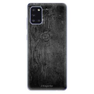 Odolné silikonové pouzdro iSaprio - Black Wood 13 na mobil Samsung Galaxy A31