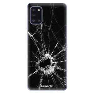 Odolné silikonové pouzdro iSaprio - Broken Glass 10 na mobil Samsung Galaxy A31