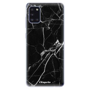 Odolné silikonové pouzdro iSaprio - Black Marble 18 na mobil Samsung Galaxy A31