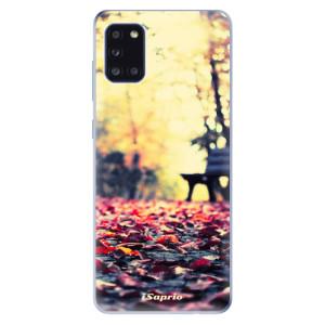 Odolné silikonové pouzdro iSaprio - Bench 01 na mobil Samsung Galaxy A31