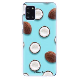 Odolné silikonové pouzdro iSaprio - Coconut 01 na mobil Samsung Galaxy A31