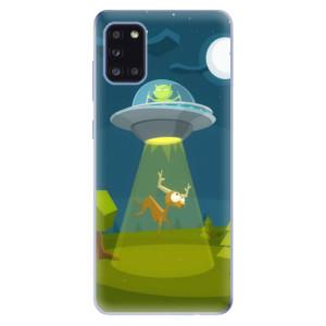 Odolné silikonové pouzdro iSaprio - Alien 01 na mobil Samsung Galaxy A31