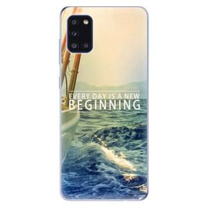 Odolné silikonové pouzdro iSaprio - Beginning na mobil Samsung Galaxy A31