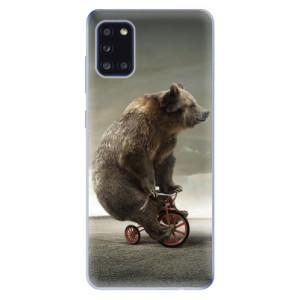 Odolné silikonové pouzdro iSaprio - Bear 01 na mobil Samsung Galaxy A31