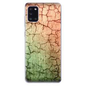 Odolné silikonové pouzdro iSaprio - Cracked Wall 01 na mobil Samsung Galaxy A31