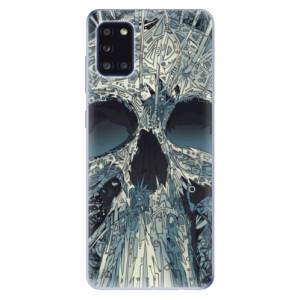 Odolné silikonové pouzdro iSaprio - Abstract Skull na mobil Samsung Galaxy A31