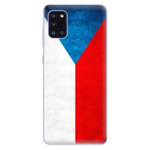 Odolné silikonové pouzdro iSaprio - Czech Flag na mobil Samsung Galaxy A31