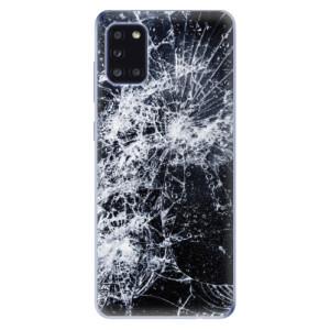 Odolné silikonové pouzdro iSaprio - Cracked na mobil Samsung Galaxy A31