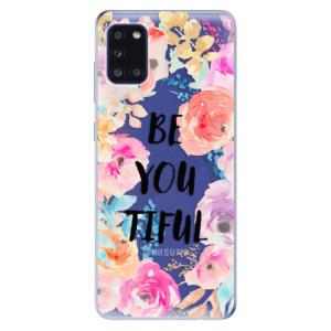 Odolné silikonové pouzdro iSaprio - BeYouTiful na mobil Samsung Galaxy A31