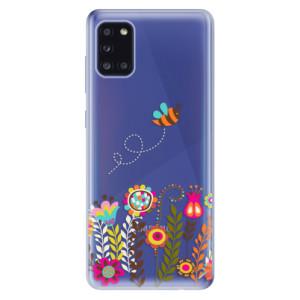 Odolné silikonové pouzdro iSaprio - Bee 01 na mobil Samsung Galaxy A31