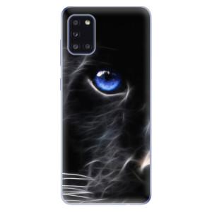 Odolné silikonové pouzdro iSaprio - Black Puma na mobil Samsung Galaxy A31