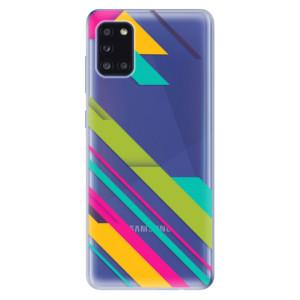 Odolné silikonové pouzdro iSaprio - Color Stripes 03 na mobil Samsung Galaxy A31