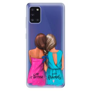 Odolné silikonové pouzdro iSaprio - Best Friends na mobil Samsung Galaxy A31
