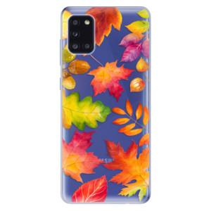Odolné silikonové pouzdro iSaprio - Autumn Leaves 01 na mobil Samsung Galaxy A31