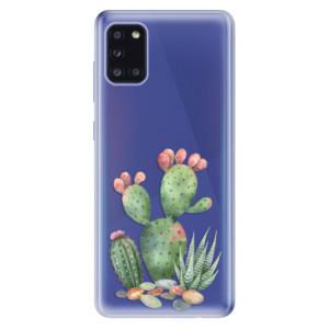 Odolné silikonové pouzdro iSaprio - Cacti 01 na mobil Samsung Galaxy A31