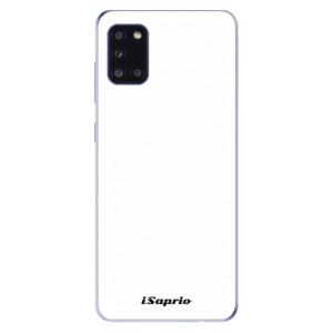 Odolné silikonové pouzdro iSaprio - 4Pure - bílé na mobil Samsung Galaxy A31