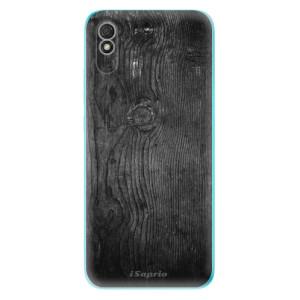 Odolné silikonové pouzdro iSaprio - Black Wood 13 na mobil Xiaomi Redmi 9A