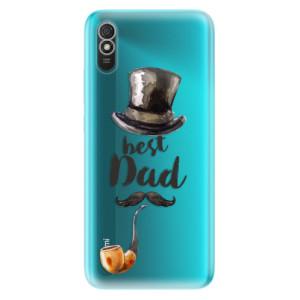 Odolné silikonové pouzdro iSaprio - Best Dad na mobil Xiaomi Redmi 9A