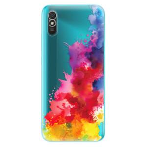Odolné silikonové pouzdro iSaprio - Color Splash 01 na mobil Xiaomi Redmi 9A