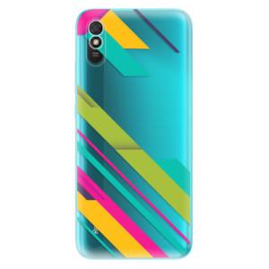 Odolné silikonové pouzdro iSaprio - Color Stripes 03 na mobil Xiaomi Redmi 9A