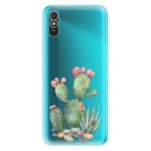 Odolné silikonové pouzdro iSaprio - Cacti 01 na mobil Xiaomi Redmi 9A