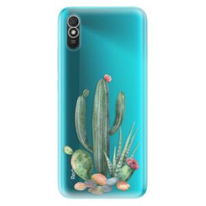 Odolné silikonové pouzdro iSaprio - Cacti 02 na mobil Xiaomi Redmi 9A