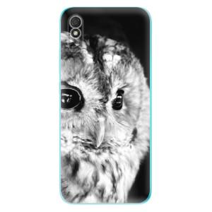 Odolné silikonové pouzdro iSaprio - BW Owl na mobil Xiaomi Redmi 9A