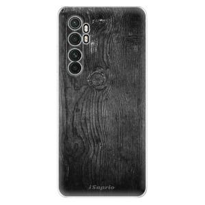 Odolné silikonové pouzdro iSaprio - Black Wood 13 na mobil Xiaomi Mi Note 10 Lite