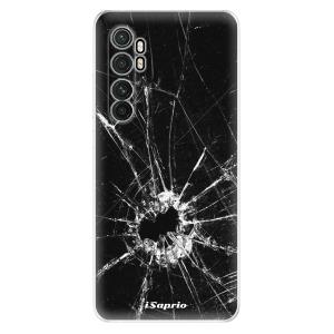 Odolné silikonové pouzdro iSaprio - Broken Glass 10 na mobil Xiaomi Mi Note 10 Lite
