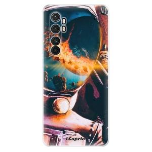 Odolné silikonové pouzdro iSaprio - Astronaut 01 na mobil Xiaomi Mi Note 10 Lite