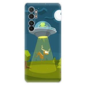 Odolné silikonové pouzdro iSaprio - Alien 01 na mobil Xiaomi Mi Note 10 Lite