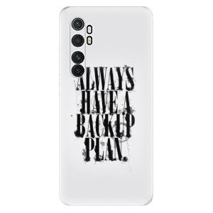 Odolné silikonové pouzdro iSaprio - Backup Plan na mobil Xiaomi Mi Note 10 Lite