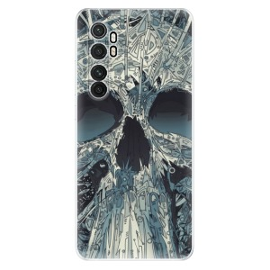 Odolné silikonové pouzdro iSaprio - Abstract Skull na mobil Xiaomi Mi Note 10 Lite