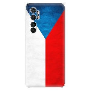 Odolné silikonové pouzdro iSaprio - Czech Flag na mobil Xiaomi Mi Note 10 Lite