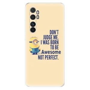 Odolné silikonové pouzdro iSaprio - Be Awesome na mobil Xiaomi Mi Note 10 Lite